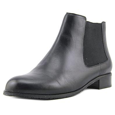 Ros Hommerson Women's Bridget Bootie,Black Leather,US ...