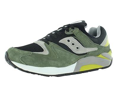 Saucony Grid 9000 Zapatos Verde Negro, Color Verde, Talla 42 EU