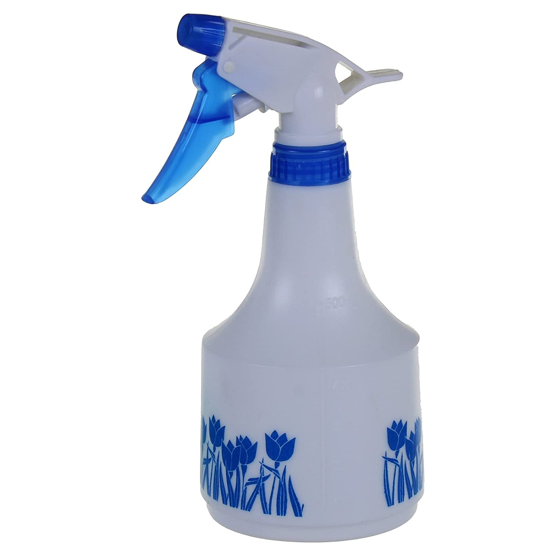 Marko Homewares Trigger Sprayer Hand Held Spray Bottle Empty Garden Weed Water Cleaning Garden (1L, Blue)