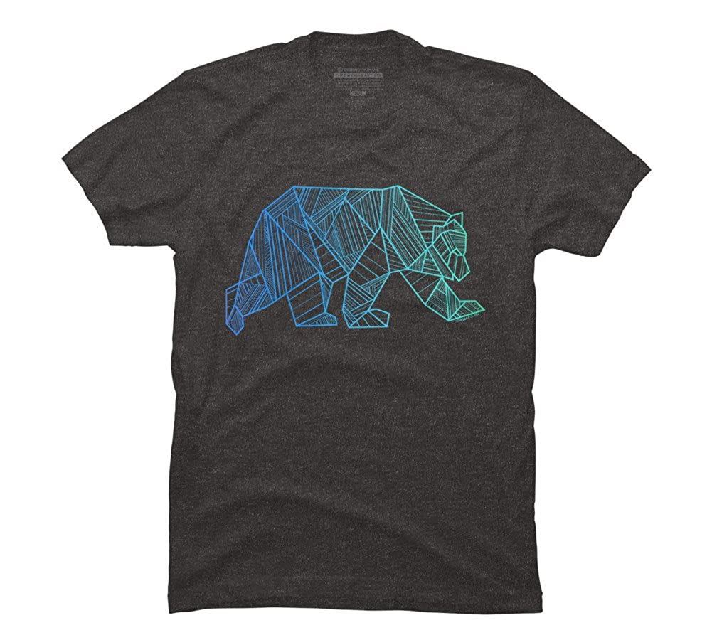 Geometric Bear 928apparel S Graphic T Shirt