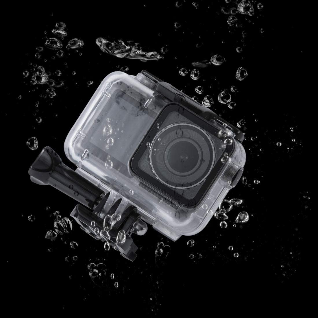 with Buckle Basic Mount /& Screw Durable 45m Underwater Waterproof Housing Diving Case for DJI New Action