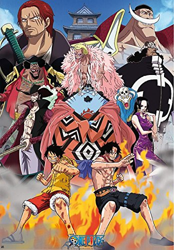 One Piece - Manga / Anime TV Show Poster / Print Marine Ford: Edward