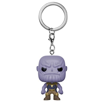 Funko POP! Keychain Marvel: Avengers Infinity War - Thanos: Funko Pop! Keychain Marvel:: Toys & Games