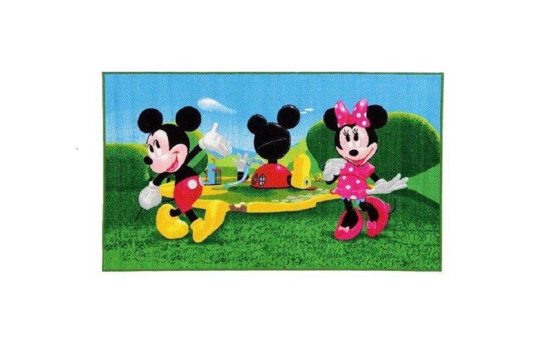 Tappeto per bambini tappeto per bambini con topolino e minnie mouse/Tappeto/Tappeto Gioco da bambini/Bambini/bambini tappeto/arazzo/modello tappeto per bambini Disney Topolino e Minnie Mouse/Wunder House/Wunder casa/Un meraviglioso e tappeto per bambini co