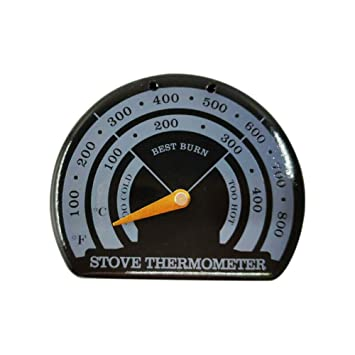Termómetro para estufa, estufa de chimenea, termómetro para horno ...