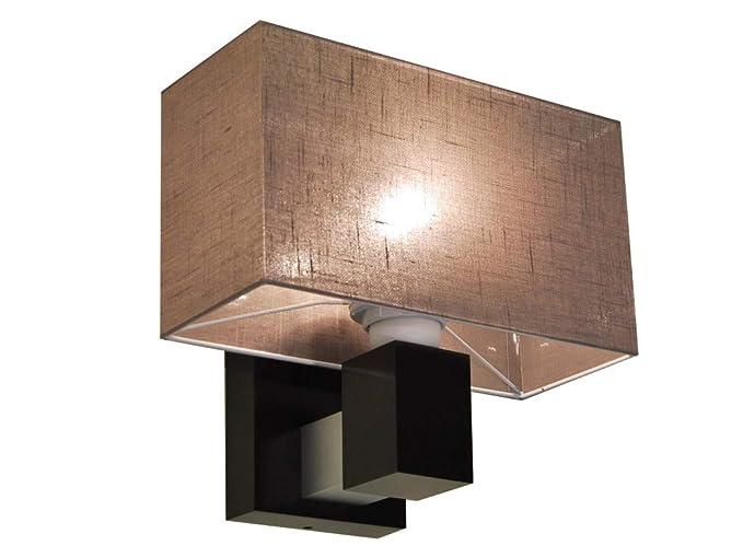 Elegante lampada jk16a da parete in legno massiccio illuminazione