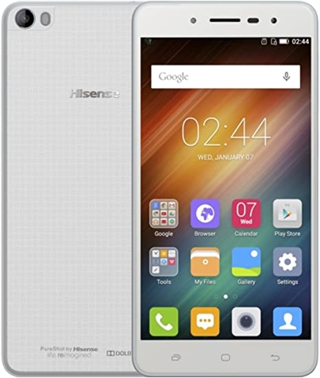 K-S-Trade 360° Funda Smartphone para Hisense L695, Smile | Wallet ...