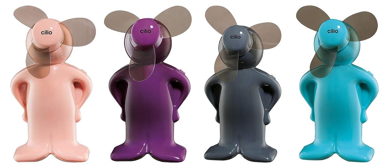 Cilio Mini-Ventilator Vento-Boy 4 St/ück farblich Sortiert