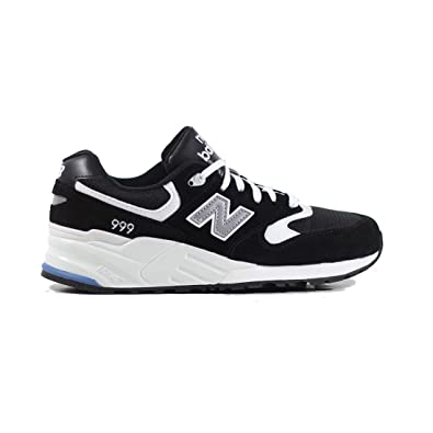 sports shoes f80a7 ac552 New Balance 999 Black   White Suede ...