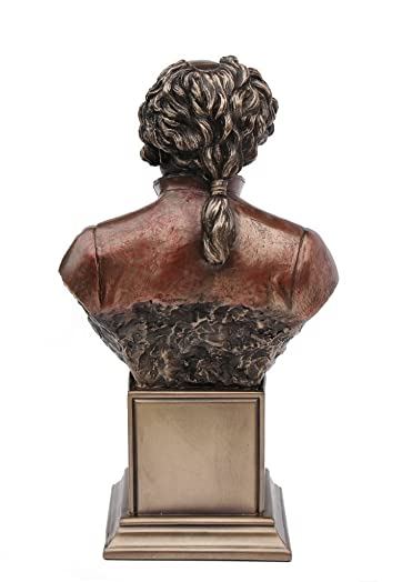 John Adams, Jr. Bust Statue Cold Cast Bronze 7 1 2 Inch Tall