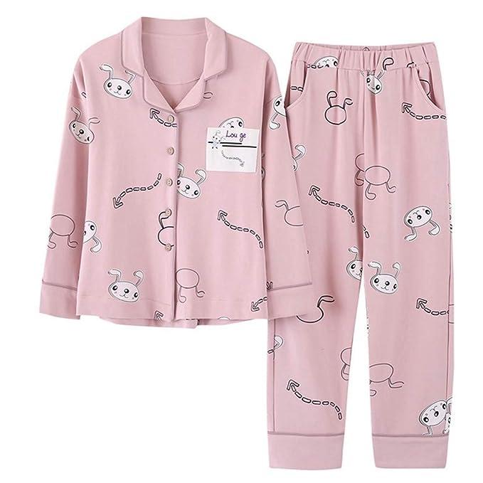 MEIXIA Vestidos De Noche Batas Camisones Negligés Pijamas De Manga Larga para Damas De Otoño E Invierno: Amazon.es: Ropa y accesorios