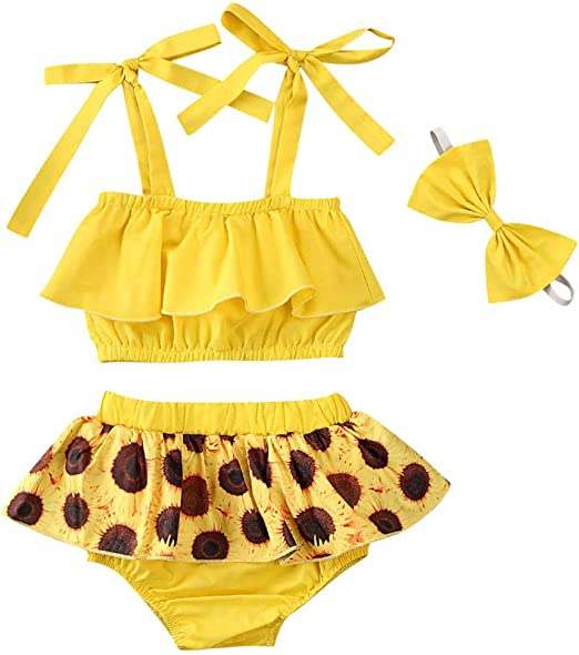 Tassel Shorts Bloomers Set Baby Girls 2 Piece Outfits Leopard Print Off Shoulder Crop Top