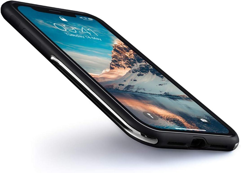 AllRoad TiX Case Black for iPhone X/XS - Built in Titanium, Dupont Kevlar and Blushock