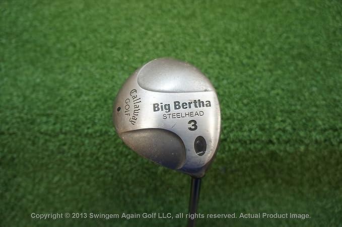 Callaway Big Bertha Steelhead 3 madera Fairway - Palo de ...
