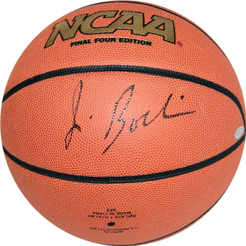 NCAA Syracuse Orange Jim Boeheim Autographed Basketball, Brown by Steiner Sports