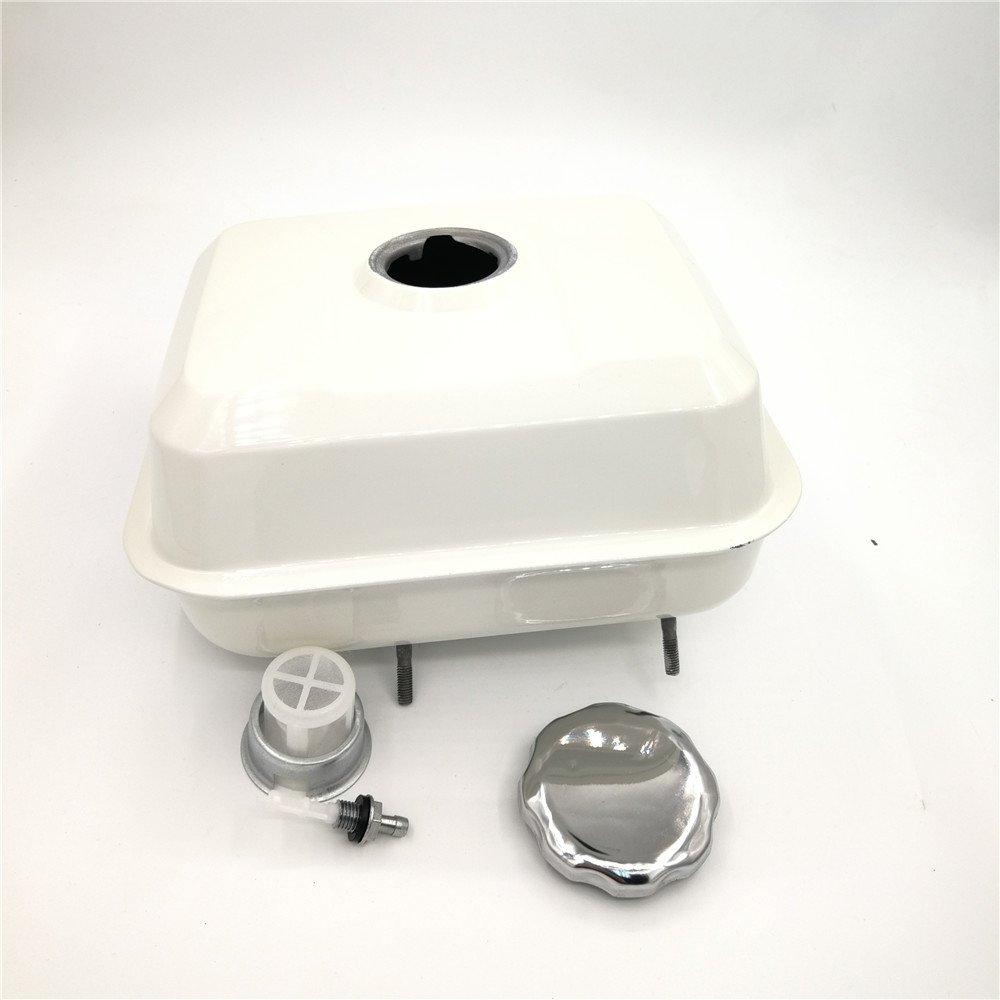 shiosheng Fuel Gas Tank Cap Filter for Honda GX140 GX160 GX200 5.5HP 6.5HP GX 140 160 200 168F 170F Engine Motor Generator Water Pump 17510-ZE1-030ZA