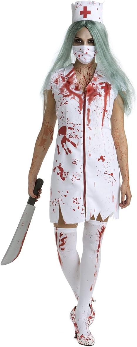 Morph Enfermera de Hospital sangrienta Zombi Disfraz - Grande ...