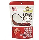 Crispconut Vegan Coconut Chips 1.4 oz. (Pack of 8) (Bacon)