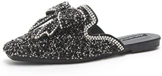 KUKI Sandales à paillettes pour femmes , 1 , US5.5 / EU35 / UK3.5 / CN35