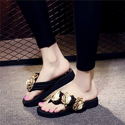 ladies spesso a YMFIE pizzico pantofole spiaggia di sabbia fondo mop antislittamento di estate moda di Alla gAA8HqX