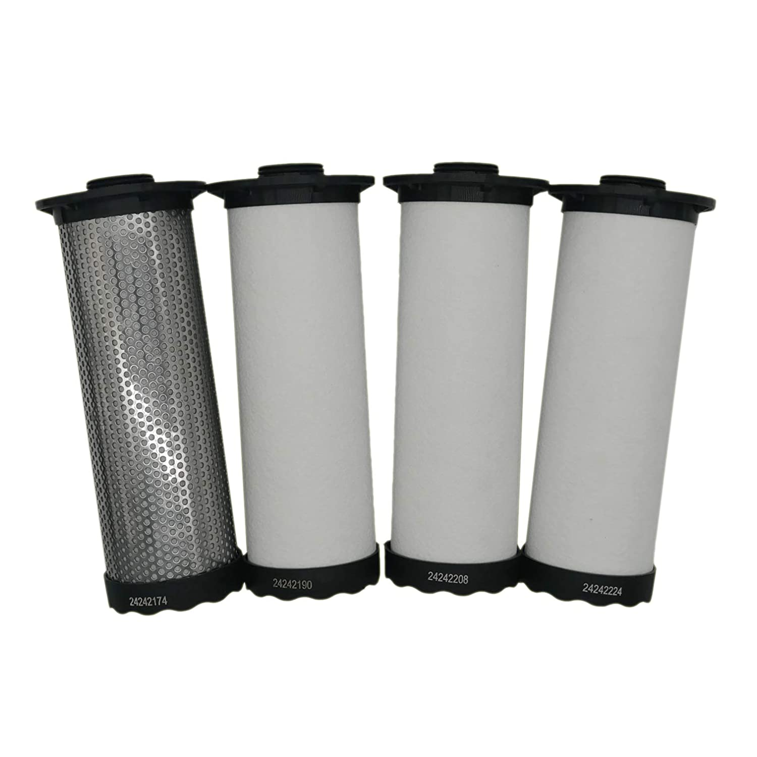 24242224 24242208 24242224 24242174 24242190 XISISUN Replacement Filter for with Ingersoll Rand Air Compressors Replacement Filter