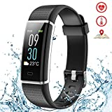 Kybeco Fitness Tracker Color Screen Weather Waterproof Activity Tracker Heart Rate Monitor Calories Counter Sleep Monitor Smart Bracelet Pedometer Bluetooth Wearable Wristband for Kids Women Men