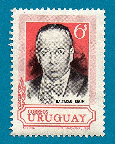 Uruguay Postage Stamp (1969) The 36th Anniversary of the Death of Baltasar Brum, 1883-1933