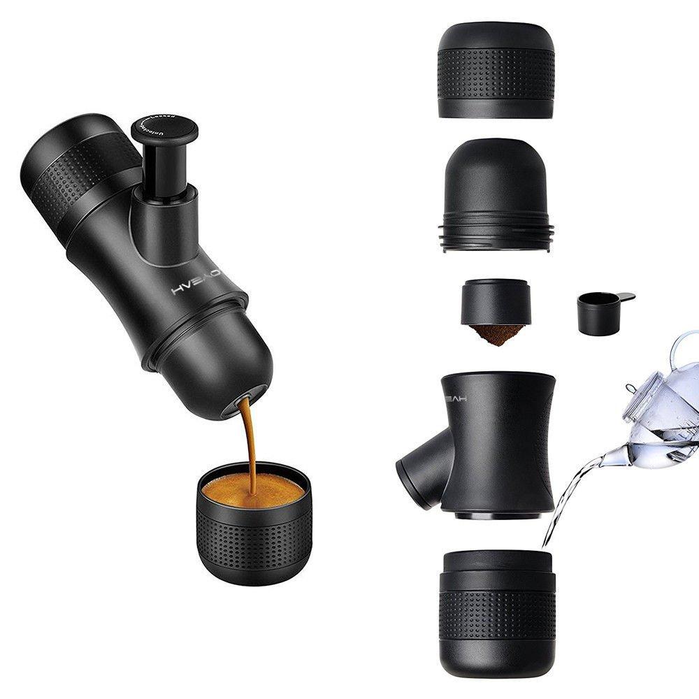 UNAKIM--Manual Coffee Machine Espresso Mini Coffee Pot Coffeemaker Outdoor Travel 2017