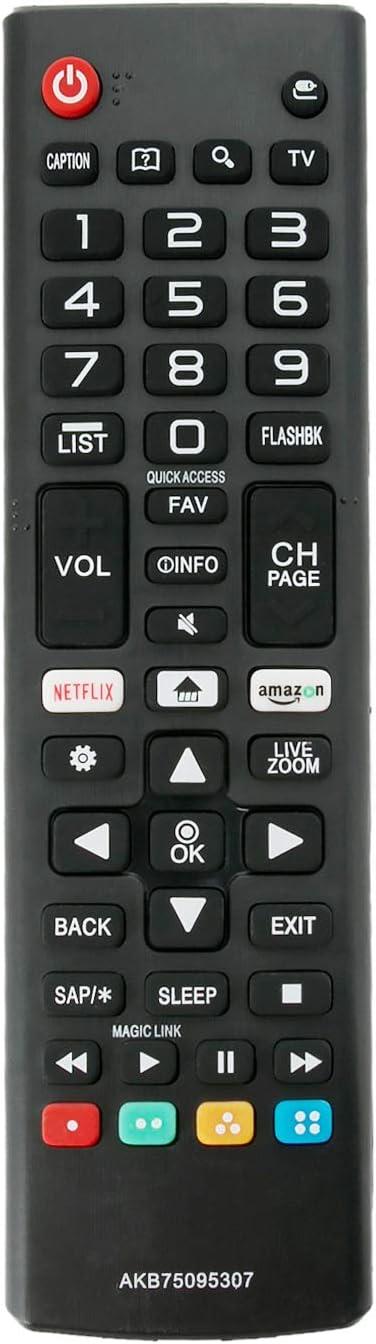 Replacement Remote Contol For LG 43LM6300PLA 50UM7450P 65UJ6300 55SK8100PLA TV