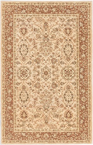 5'4'' X 8'3'' Persian Ht Traditional Ivory, Khaki Area Rug by CarPet
