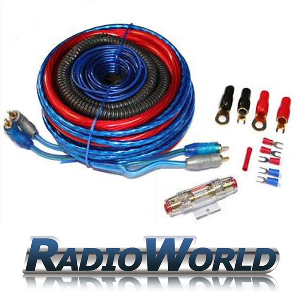 Autoleads 4 Gauge Amplifier Amp Wiring Kit: Amazon.co.uk: Electronics