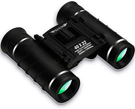 FELiCON 40×22 Compact Zoom Night Vision Portable Waterproof HD Binoculars