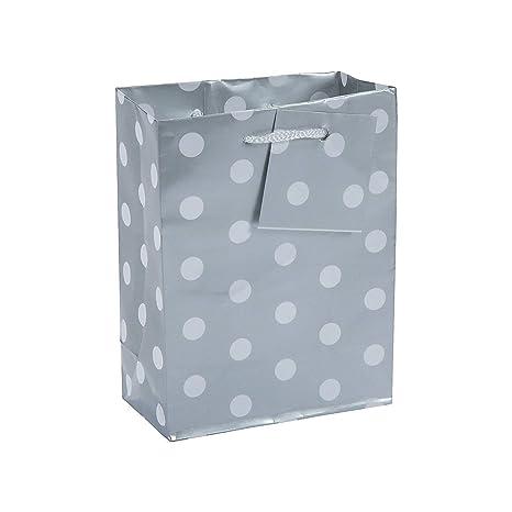 Amazon.com: 1 docena de – Small Silver Lunares de papel ...