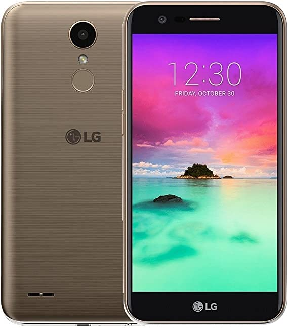 Amazon Com Lg K10 M250f 2017 4g Lte Octa Core 1 5ghz 5 3 16gb 2gb Ram 13 Mp Single Sim Android 7 0 Factory Unlocked Gold