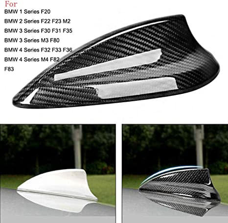 REAL CARBON FIBER AERIAL FIN ANTENNA COVER FOR BMW 4-Series F32 3-Series F30 F31