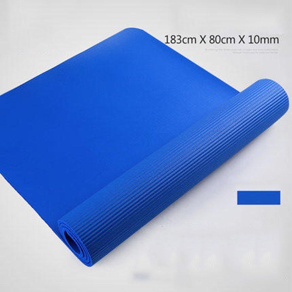 gris Xinsushp Home Tapis de Yoga Anti-dérapant Pratique de Danse Pratique Fitness Yoga (Couleur   bleu)