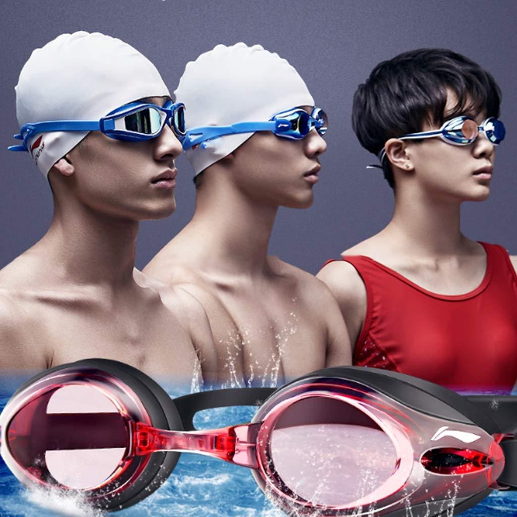 Schwimmbrillen Brille HD Wasserdichte Männliche Weibliche Brille Wassersport Brille Brille Brille Schwarz UV-Schutz (Farbe   E) B07QB1J1DB Schwimmbrillen Ausgezeichnetes Handwerk 756fca