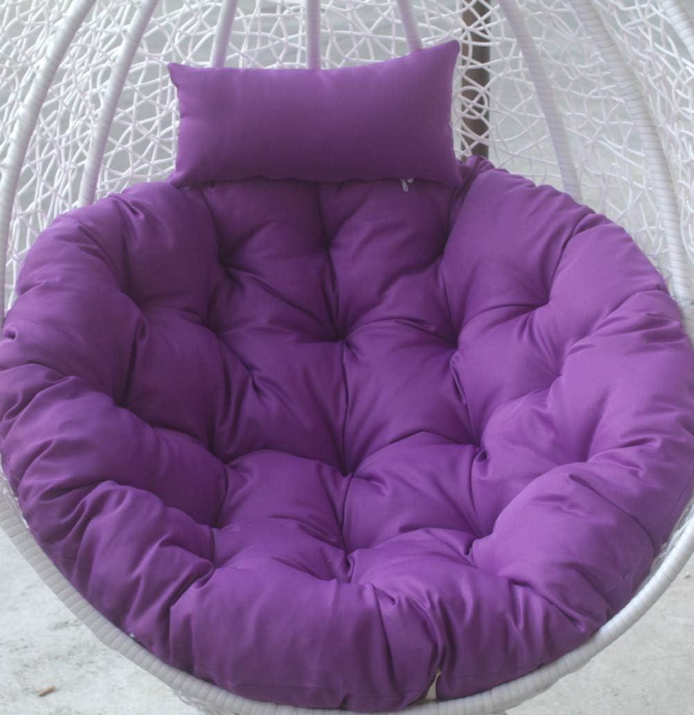41x41inch E Alaeo Hamacs Coussins de si/ège Suspendus Coussin de Coussin de Chaise en Coton Moelleux Rond Coussin d/œuf avec Coussin pour chaises de jardin-terrasse-105x105cm