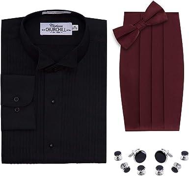 S.H. Churchill & Co. Camisa de Esmoquin para Hombre, Color ...