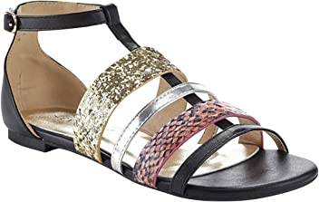 1615aeaa531 Extreme by Eddie Marc Women s Jamie 3 Strap Fashion Sandal