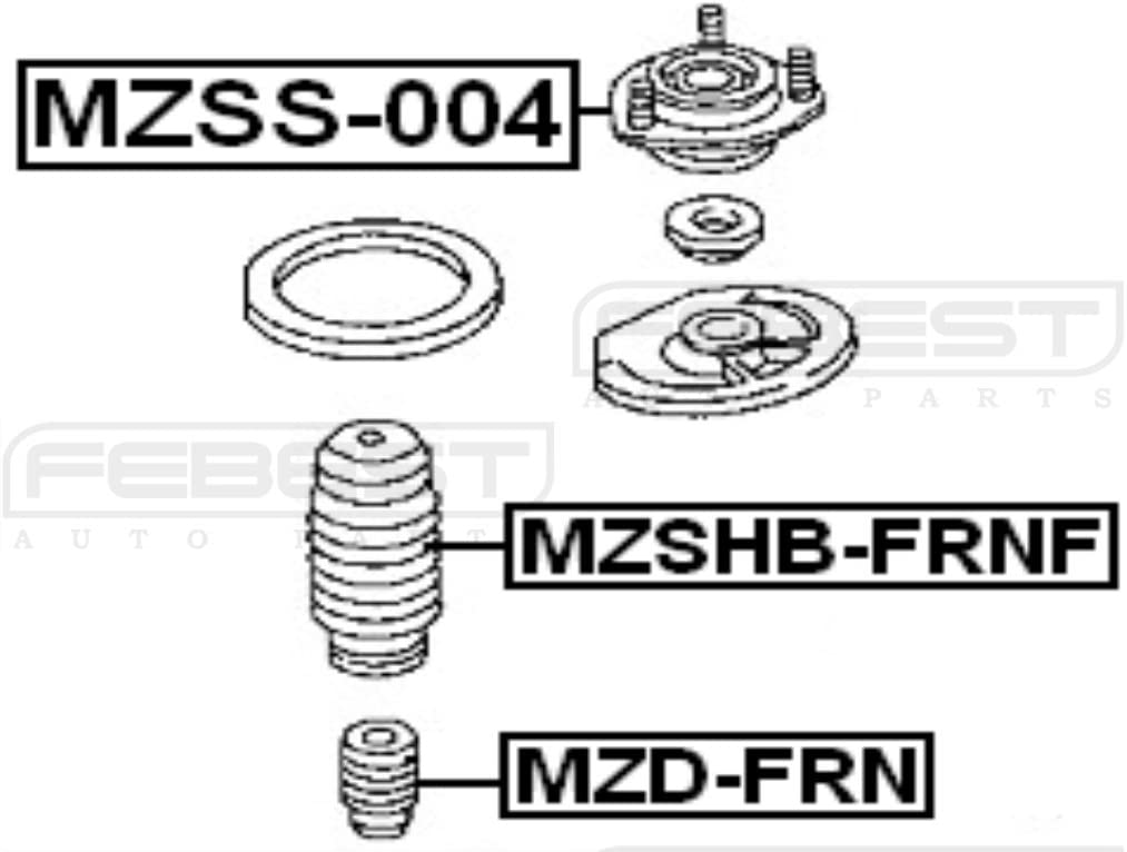 FEBEST MZSS-004 Front Shock Absorber Support