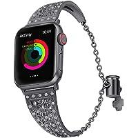 HappyTop Exotische Sieraden Armband voor Apple Horloge 1/2/3/4, Verstelbare Polsband, Prachtige Horloge Bands voor Vrouwen
