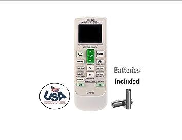 Amazon com: AC Remote Replacement Universal AC Remote