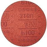 3M 01225 Hookit Red 6'' P100 Grit Abrasive Disc