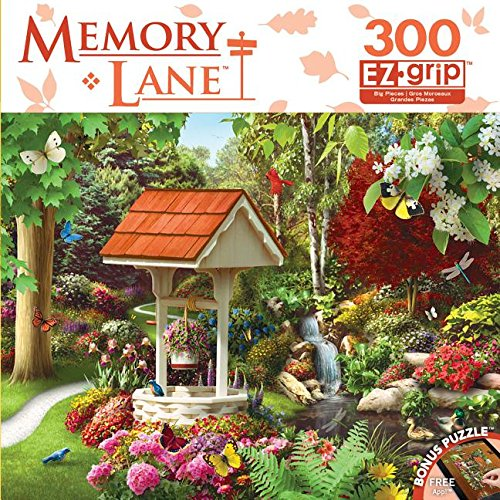 MasterPieces Memory Lane Endless Dream Book Box EZ Grip Jigsaw Puzzle, Art by Alan Giana, 300-Piece