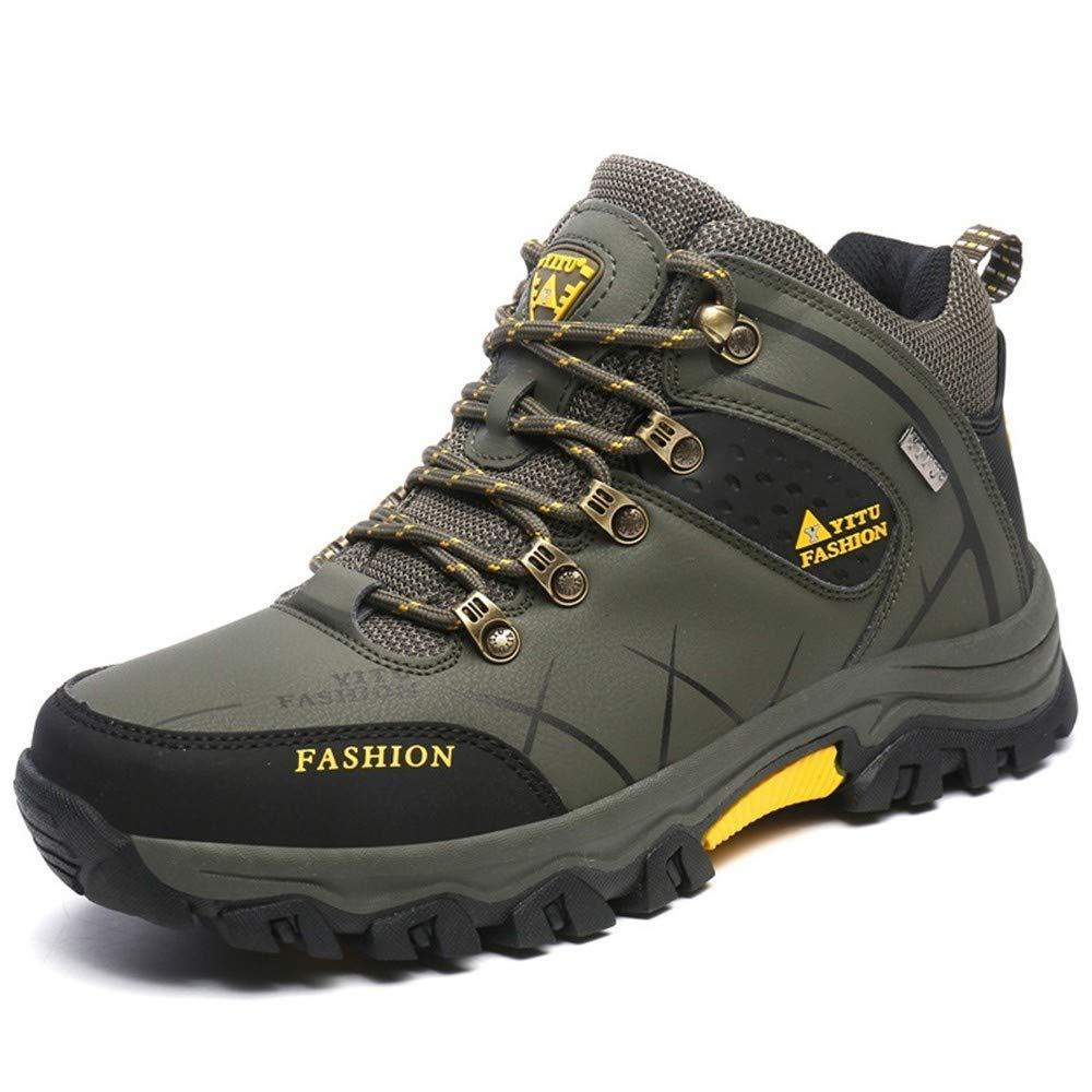 Outdoor-Outdoor-Wanderschuhe für den Herbst und Winter Tragen Männer und Frauen beim Wandern warm und Baumwollschnee-Stiefel