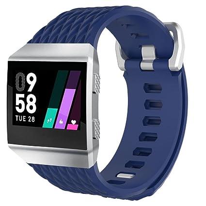 Y56 para Fitbit Ionic banda de correa pequeña, moda suave de silicona pulsera deportiva correa