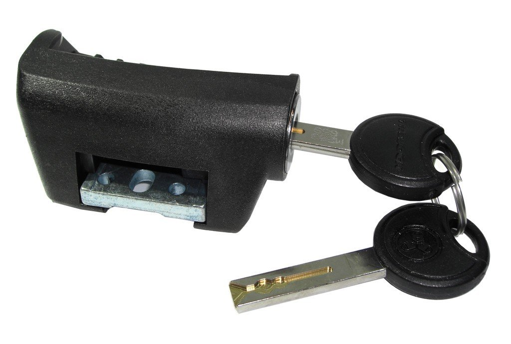Padlock Battery Replacement for Shimano to Frame e-bike Lock Cylinder Key