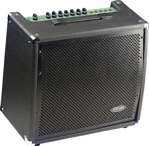 (Stagg 60 GA R USA 60 Watt RMS 2-Channel Guitar Amplifier with Spring Reverb)