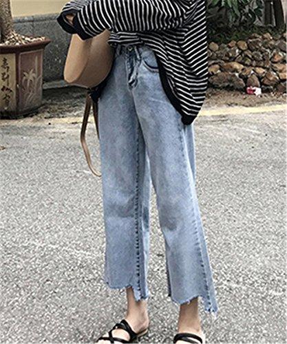 clothing COCO Relaxed Jeans bleu Femme bleu 4aq7aSZ